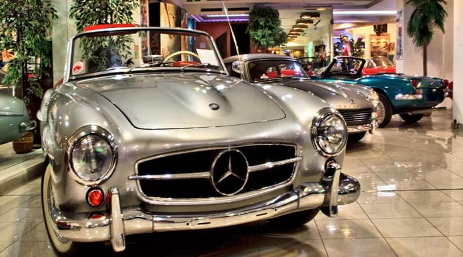 Malta Classic Car Events 2017 - The Palace Luxury Hotel in Malta