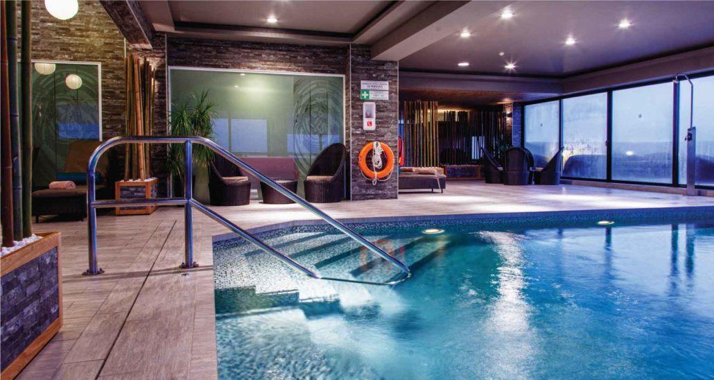 indoor pool facilities at AX The Palace in sliema