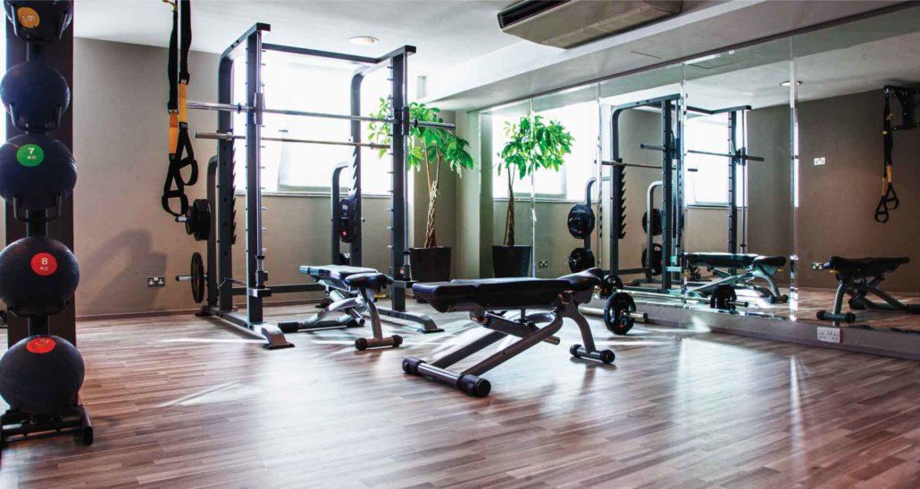 sliema gym facilities at AX The Palace